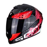 Casco Integrale Scorpion Exo 1400 Air Classy Rosso Donna