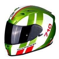 Casco Moto Scorpion Exo-710 Air Gt Verde