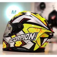 Scorpion Full Face Helmet Exo R1 Replica Bautista