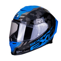 Full Face Helmet Scorpion Exo R1 Ogi Blue