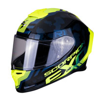 Full Face Helmet Scorpion Exo R1 Ogi Yellow