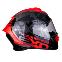 Full Face Helmet Scorpion Exo R1 Ogi Red