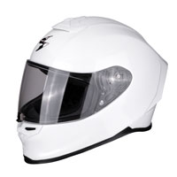 Full Face Helmet Scorpion Exo R1 Solid White