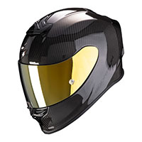 Casco Scorpion Exo R1 Carbon Air Nero Lucido