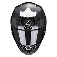Scorpion Exo R1 Carbon Air Corpus 2 Helmet White