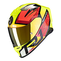 Casco Integrale Scorpion Exo R1 Infini Giallo