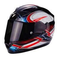 Scorpion Exo-1200 Air Fulgur Nero-bianco-rosso