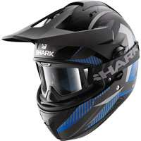 Shark Explore-r Peka Matt Black-blue-anthracite