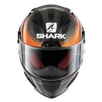 Shark Race-r Pro Carbon Kolov Arancio-nero-carbonio