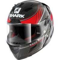 Shark Race-r Pro Carbon Kolov Rosso-argento-carbonio