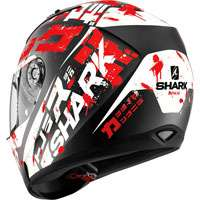 Shark Ridill Kengal Matt Black-white-red