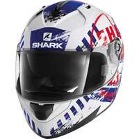 Shark Ridill Skyd White-blue-red