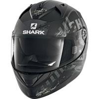 Shark Ridill Skyd Opaco Nero-argento