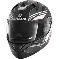 Shark Ridill Tika Matt Black-anthracite-white