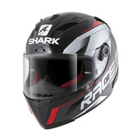 Shark Race-r Pro Sauer Black-anthracite-red