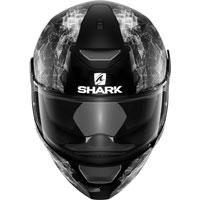 Shark Skwal Hiya Nero Opaco-bianco