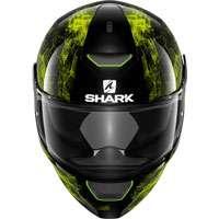 Shark Skwal Hiya Nero-verde