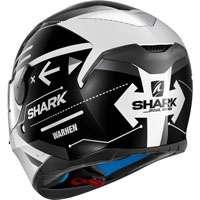 Shark Skwal Warhen Nero-bianco