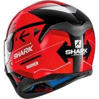 Shark Skwal Warhen Nero-rosso