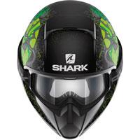 Shark Vancore Ashtan Nero Opaco-verde