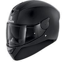 Shark D-skwal 2 Blank Mat Helmet Black
