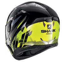 シャーク D-Skwal 2 カンジ ヘルメット ブラック イエロー
