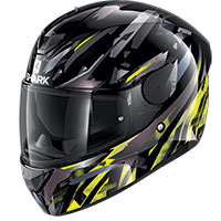 Shark D-skwal 2 Kanhji Helmet Black Yellow