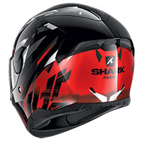 Shark D-skwal 2 Kanhji Helmet Black Red