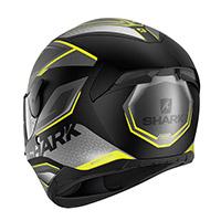 Shark D-skwal 2 Daven Mat Helmet Anthracite Yellow