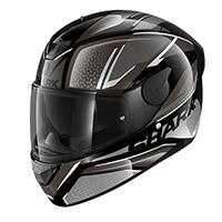 Shark D-skwal 2 Daven Helmet Black Silver
