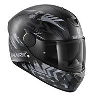 Shark D-skwal 2 Penxa Mat Helmet Black Anthracite