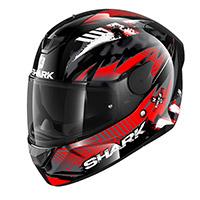 Shark D-skwal 2 Penxa Helmet Black Red