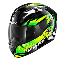 Shark D-skwal 2 Penxa Helmet Green Yellow