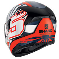 Shark D-skwal 2 Zarco 2019 Mat Helmet Orange