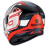 シャーク D-Skwal 2 ザルコ 2019 マット ヘルメット オレンジ