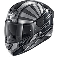 シャーク D-スクワル 2 ザルコ 2019 マット ヘルメット シルバー