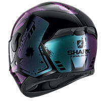 Casco Shark D-skwal 2 Dharkov Viola Glitter