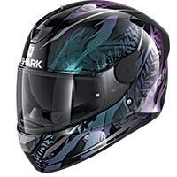 Casco Shark D-skwal 2 Shigan Nero Viola