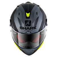 Shark Race-r Pro Sauer Mat Anthracite Black Fluo Yellow