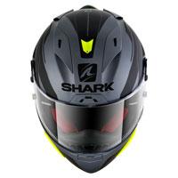 Shark Race-r Pro Sauer Mat Antracite Nero Giallo Fluo