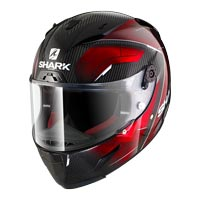Shark Race-r Pro Carbon Deager Nero Rosso