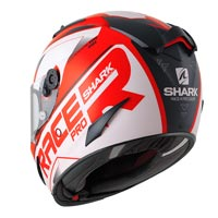 Shark Race-r Pro Sauer Rosso Nero Bianco