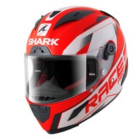 Shark Race-r Pro Sauer Red Black White
