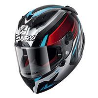 Casco Shark Race R Pro Carbon Aspy Rosso Blu