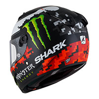 Shark Race-r Lorenzo Monster Matt 2018 Black Red