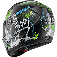 Shark Ridill 1.2 Drift R Helmet Black Green Blue