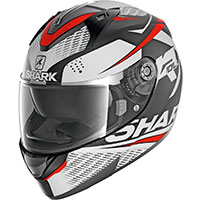 Shark Ridill 1.2 Stratom Mat Helmet White Red