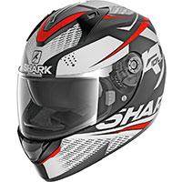 シャーク リディル 1.2 ストラトムマット ヘルメット ホワイトレッド