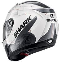 シャーク リディル 1.2 メッカ ヘルメット ホワイトレッド