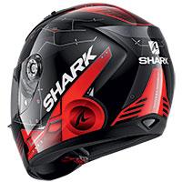 シャーク リディル 1.2 メッカ ヘルメット ブラック レッド